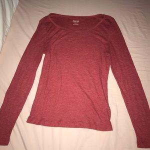 red mossimo shirt